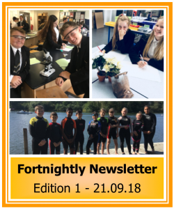 Newsletter 1819 Edition 1